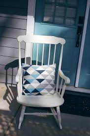 Teal Rocking Chair The Trials And Tribulations Of Painting A Rocking Chair U2014 A