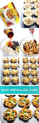 easy enchilada cups recipe dinners snacks and food