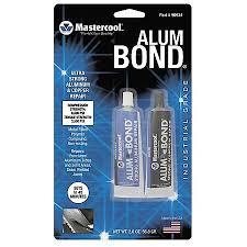 mastercool by adobe air alum bond a c repair epoxy 2 oz pack