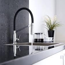 plomberie robinet cuisine robinet noir cuisine robinet cuisine design noir mitigeur cuisine
