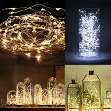 ebay led string lights 20 30 40 50 100 led string copper wire fairy lights battery powered