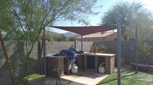 Backyard Shade Sail by Best Shade Sail Products In Arizona Arizona Shade Sails
