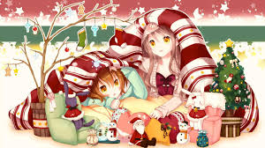 anime christmas wallpapers free download download hd background