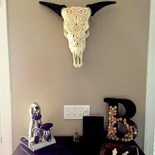 carved cow skull deco ideas for different rooms skull bliss