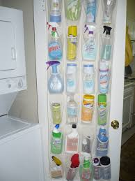 hanging shoe organizer those hanging shoe racks are great for storing cleaning supplies