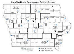 Carroll Community College Map Regional Workforce Investment Boards Iowaworkforcedevelopment