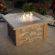 Rectangle Fire Pit Table Fire Pits Fireplace Stone U0026 Patio