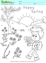 color spring page turtle diary