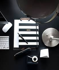 Black And White Desk Accessories 10 Chic Desk Accessories For The New Year Coco Kelley Coco Kelley