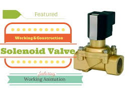 solenoid valve working youtube