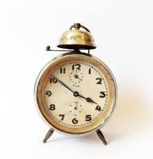 desk alarm clock antique kienzle 1930s alarm clock germany vintage old desk table