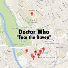 Raven Maps Moviemaps U2014 Doctor Who 910 U201cface The Raven U201d In This Week U0027s