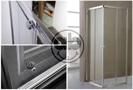 box doccia cristallo 80x80 box doccia in cristallo trasparente da 6 mm con profili in alluminio