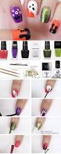 halloween nail art tutorial fangs talonted lex 20 easy step by