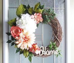 outdoor wreaths for front door floral wreaths wreaths front