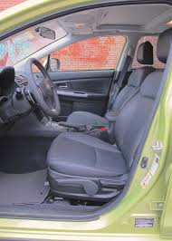 Subaru Xv Crosstrek Interior 2014 Subaru Xv Crosstrek Hybrid Around The Block