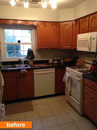 before u0026 after a dated kitchen u0027s fresh facelift on a budget