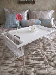 canap駸 poltron et sofa vintage wooden wicker rattan large serving bed tray shabby chic