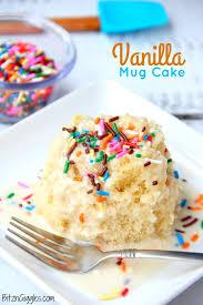 easy vanilla mug cake bitz u0026 giggles