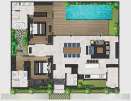 villa bali architect plan idea pinterest villas and house
