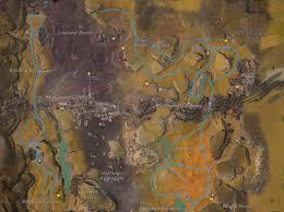 Gw2 World Map by Blazeridge Steppes Farming Guide