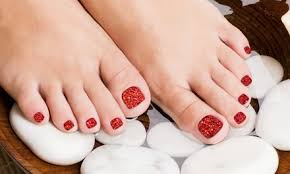 can you get a pedicure if you have gross feet