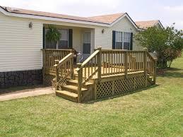 decks for mobile homes home deck gallery modular wood kits 8 x 12