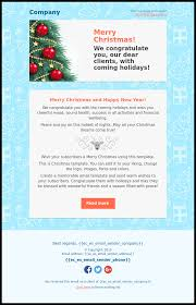 merry and happy new year email template free template