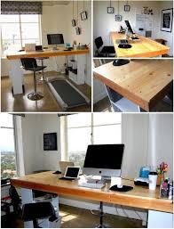 Desk Treadmill Diy Standing Desk Treadmill Desk Creative Office Space