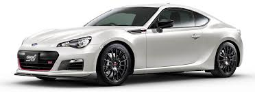 subaru brz body kit subaru brz ts arrives in japan with sti goods