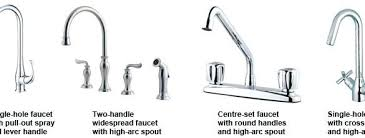 different types of kitchen faucets modern ideas different types of kitchen faucet handles faucets