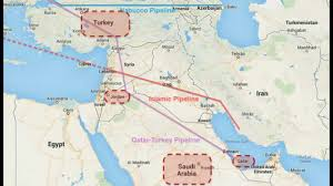 Where Is Syria On The Map by Pipeline Is The Real Reason They Want Syria Putin Says Assad Will
