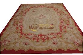 Large Black Area Rug Woven Wool Carpet Aubusson Rugs In Big Black Area Rug