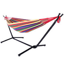 cheap outdoor hammocks with stand