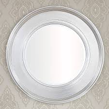 Round Mirrors Black Silver Round Mirror By Decorative Mirrors Online