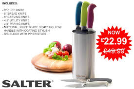 coloured kitchen knives set salter colour collection 5 stainless steel kitchen knife set