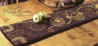 Hand Hooked Rug Kits Traditional Rug Hooking Designs By Sally Van Nuys Of Folk U0027n