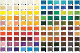 100 sennelier oil paint color chart artists in pastel