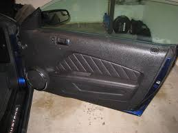Mustang Interior 2014 Mustang Interior Door Panel Removal Guide 001