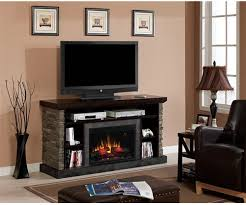 Fireplace Console Entertainment by Classic Flame Matterhorn Electric Fireplace Media Console
