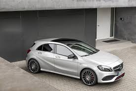 Modified A Class Mercedes 2016 Mercedes A Class Facelift Debuts With New 1 6 Engine And