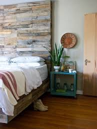 rustic wood bed houzz