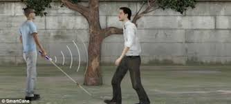 Blind People Canes The White Stick Gets A 21st Century Makeover 30 Smart Cane Uses
