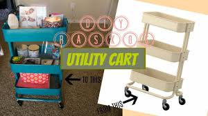 Raskog Cart Diy Raskog Utility Cart April Tellez Youtube