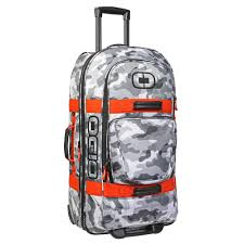ogio motocross gear bags ogio terminal bag snow camo orange available at motocross giant