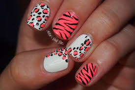 fabulous cheetah nail design nail arts and nail design ideas