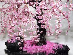 Cherry Home Decor by Bonsai Beaded Tree Home Decor Sakura A Tree Is An Unusua U2026 Flickr