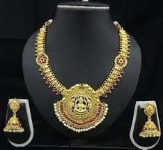 jewelry necklace images Shourya exports temple jewelry necklace set mandir ke jevar jpg