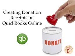 Non Profit Donation Receipt Letter Donation Receipts In Quickbooks Online Saara Business Development