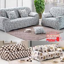 Removable Sofa Covers Uk 3 Seater Sofa Furniture Slipcovers Ebay